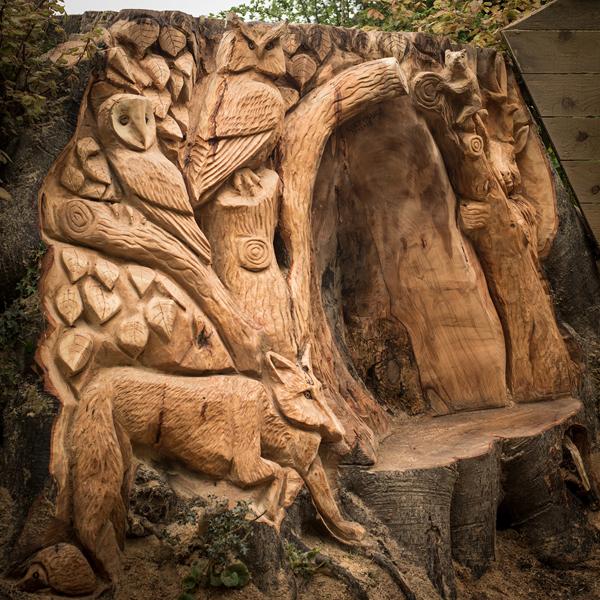 Gallery gary orange wood carving