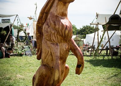 Giant Hare, Glastonbury Festival